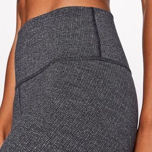 Lululemon Wunder Under Hi-Rise 7/8 Variegated Knit